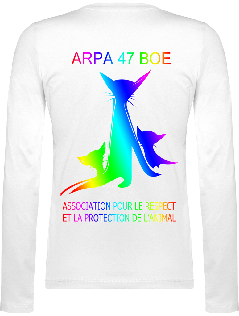 T-Shirt V-Neck Women Long sleeve