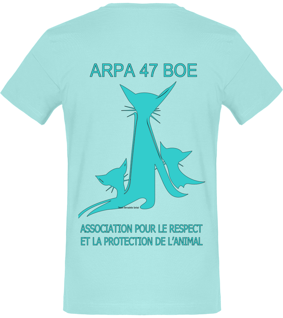 Tee Shirt Homme Col rond Logo Arpa original