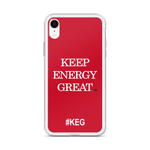 KEG iPhone Case
