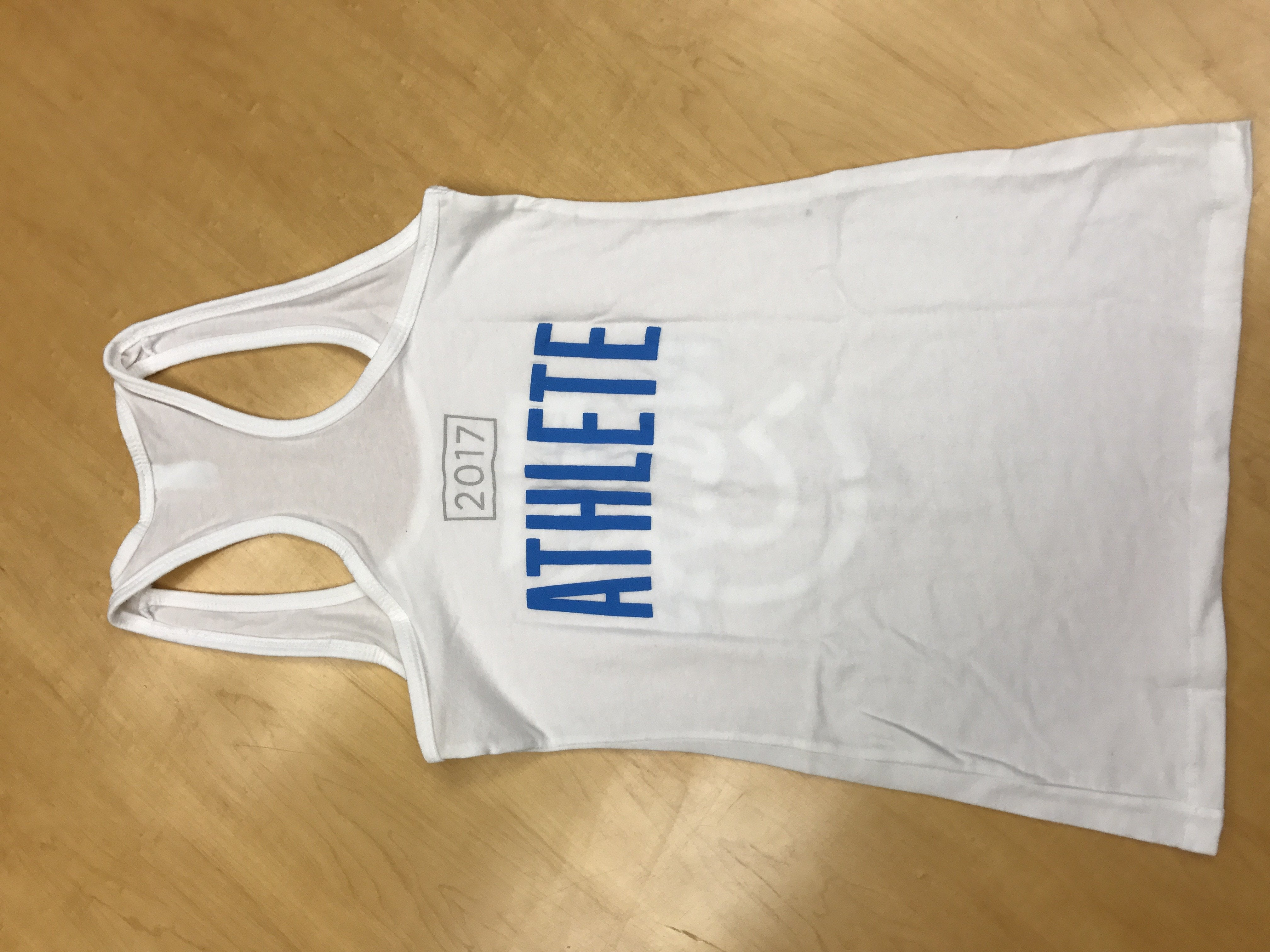 Women's White ATHLETE 2017 Tank