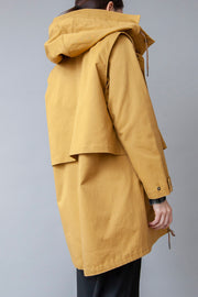 TWO-PIECE KHAKI PARKA JACKET