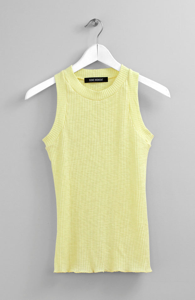 SEPARATE SLEEVES LEMON TOP