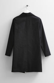 BLACK COTTON COAT