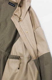 TWO TONE PARKA JACKET
