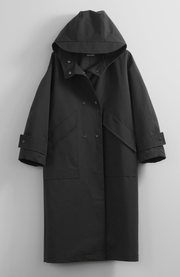 WATERPROOF BLACK COAT