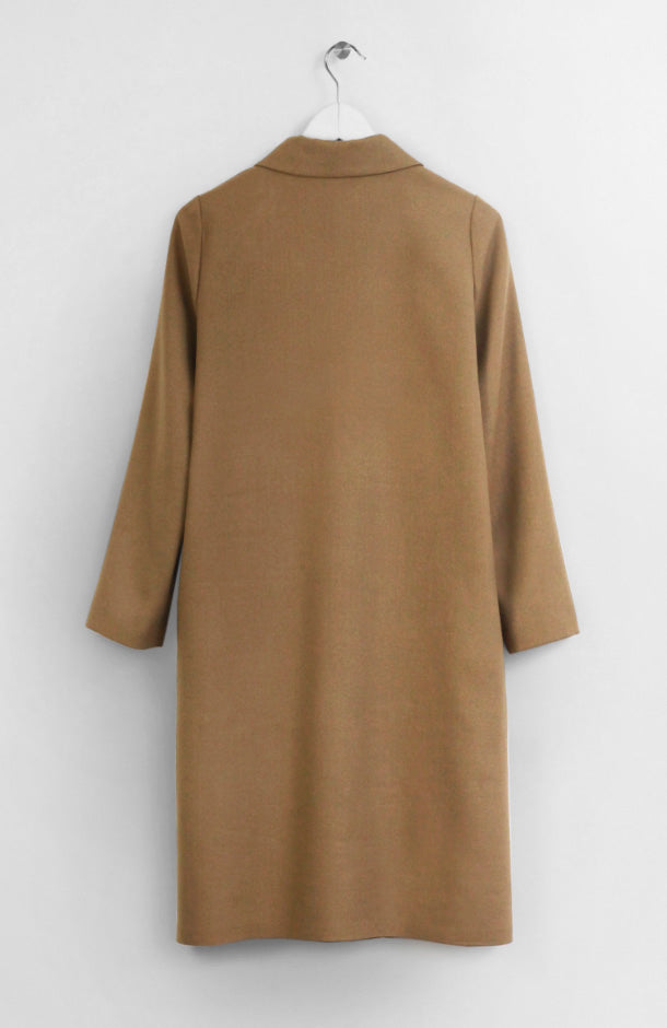 WOOL CAMEL COAT