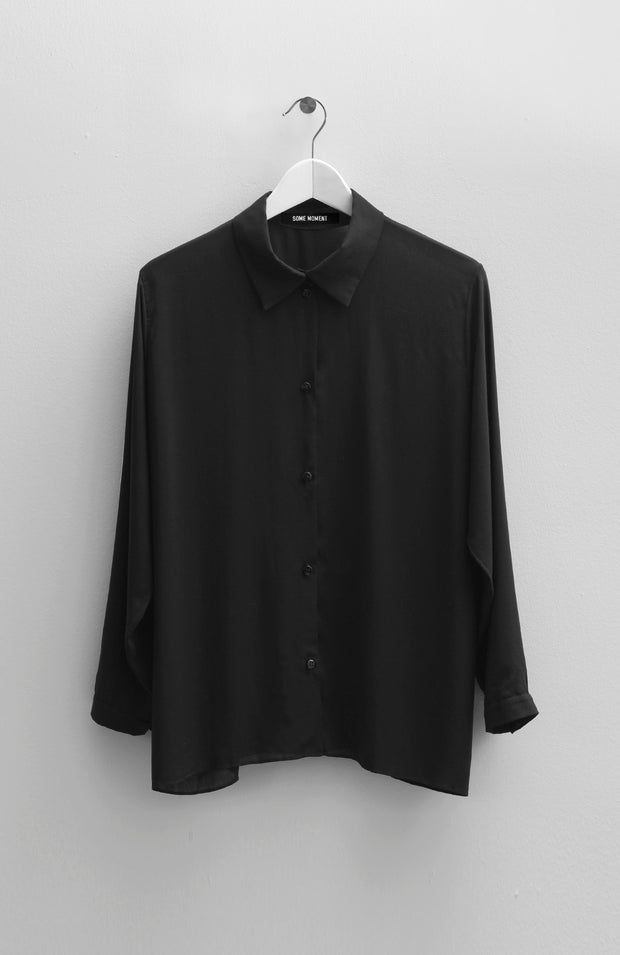 VISCOSE BLACK BLOUSE