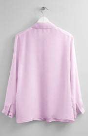 SILK LIGHT PINK BLOUSE