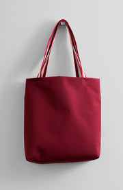 WATERPROOF CANVAS BAG BURGUNDY