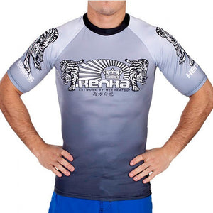 Rash Guard White Tiger - KENKA x MEERKATSU - GATAME
