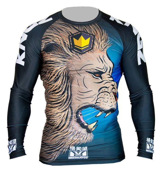 Rash manche longue Kingz Royal Lion V2 by Meerkatsu - GATAME