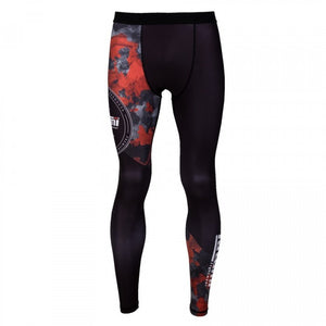 Legging RENEGADE RED CAMO - Tatami - GATAME