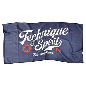 "Serviette Microfibre ""Technique and Spirit"" - Scramble Brand - GATAME"