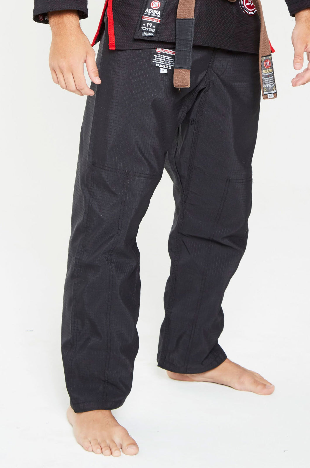 Pantalon JJB noir Ultra light - Atama - GATAME