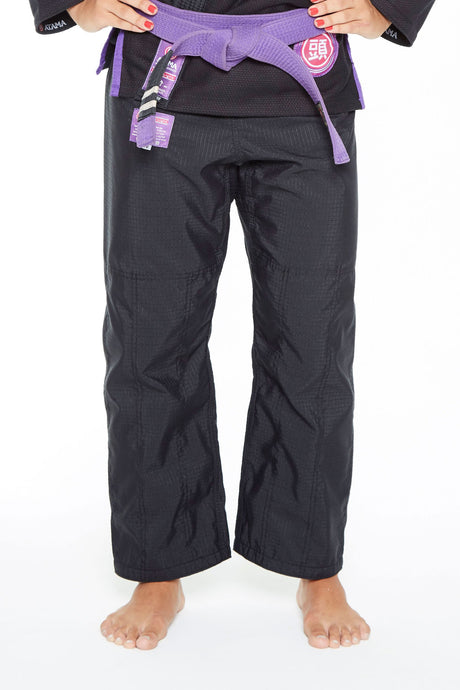 BLACK ATAMA ULTRA-LIGHT WOMEN GI PANTS - GATAME