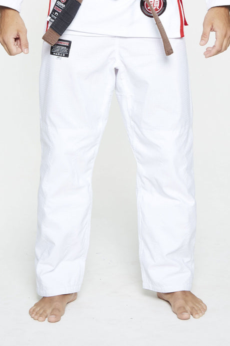 WHITE ATAMA ULTRA-LIGHT GI PANTS - GATAME