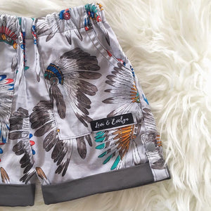 Cherokee Grey Shorts