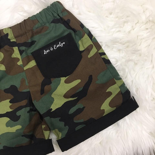 Rambo Rolled Cuff Shorts