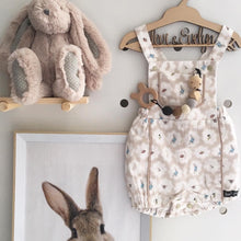 Load image into Gallery viewer, Cotton Tails Taupe Playsuit