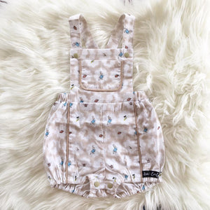 Cotton Tails Taupe Playsuit