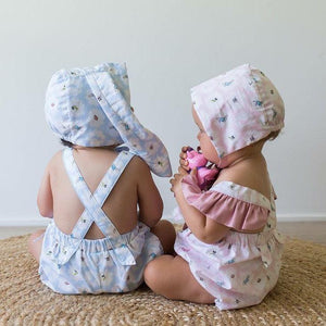 Cotton Tails Bunny Ears Bonnet