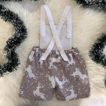 Load image into Gallery viewer, RM Prancer Overalls Size 3