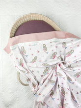 Load image into Gallery viewer, Mermaid Flannelette Swaddle