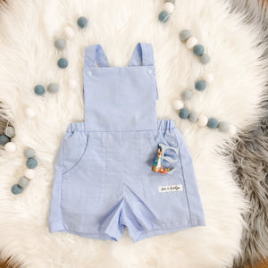 Classic Blue Overalls Size 3