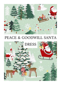 Peace and Goodwill Dress