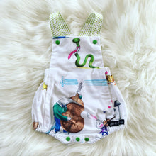 Load image into Gallery viewer, RM Viola Vintage Romper Size 0
