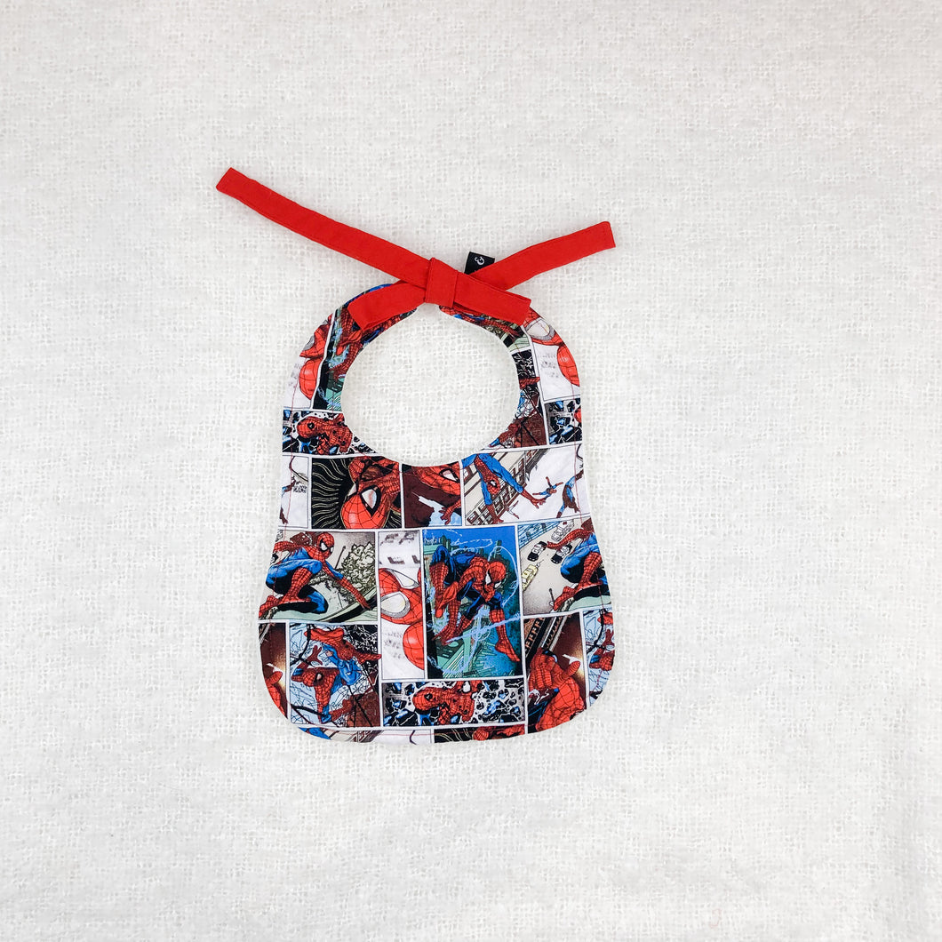 Spidey Traditional Bib