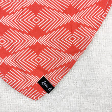 Load image into Gallery viewer, Coral Bandana Bib
