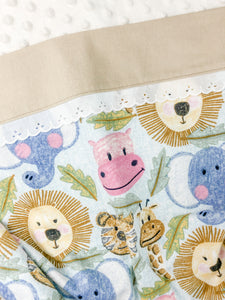 Jungle Flannelette Swaddle