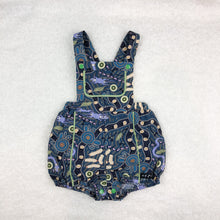 Load image into Gallery viewer, Bushtucker Blue Playsuit