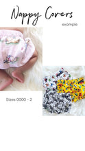 Load image into Gallery viewer, CUSTOM ORDER - NAPPY COVER