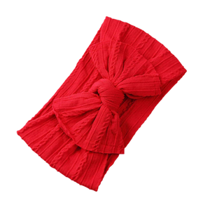 Soft Headband | Bow - Red
