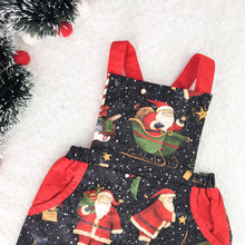 Load image into Gallery viewer, Merry Kringle Overalls