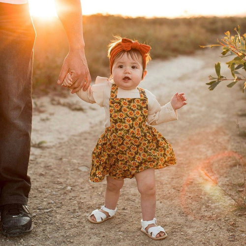 Sunflower Romper Skirt