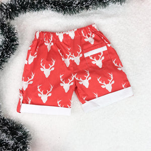 Dasher Red Shorts
