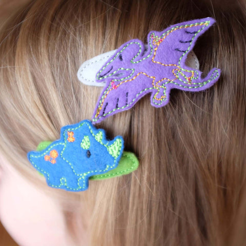 Plastic-Free Hair Clips
