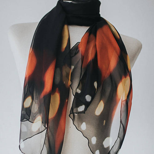 Scarf Monarch Butterfly
