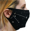 [UITVERKOCHT] Mondmasker sterrenbeelden (glow in the dark) - Fairy Positron