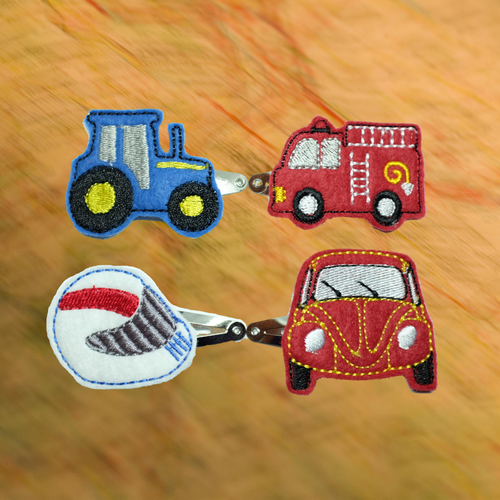 Hair Clips Vehicles