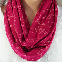 Load image into Gallery viewer, Infinity Scarf Jurassic Party