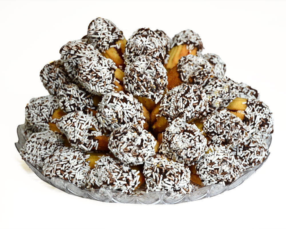 White Sprinkles Cookie Tray, Jelly