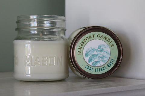Cool Citrus Basil Candle