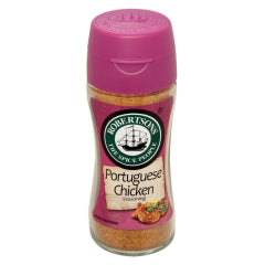 ROBERTSON PORTUGUESE CHICKEN SPICE BOTTLE 72g