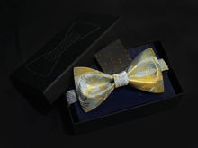 Load image into Gallery viewer, Kyoto Nishijin 千鶴 Bow Tie Set