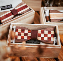 Load image into Gallery viewer, [Limited Edition] Mori Matching Wooden BowTie