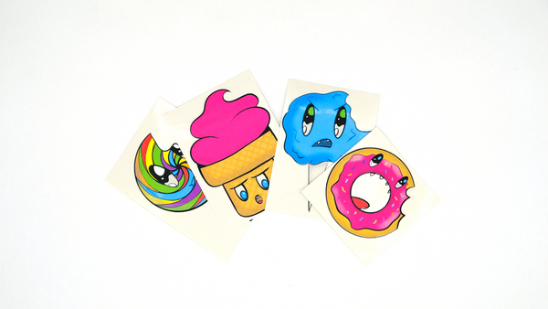 Angry Food Stickers